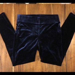Loft skinny amaranth pants blue size small